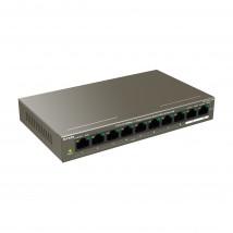 Stikalo 100M 10xRJ45 8x PoE + 2x 1Gbps uplink Tenda Mini